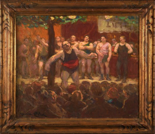 Maurice Eliot (18621945) - wrestlers