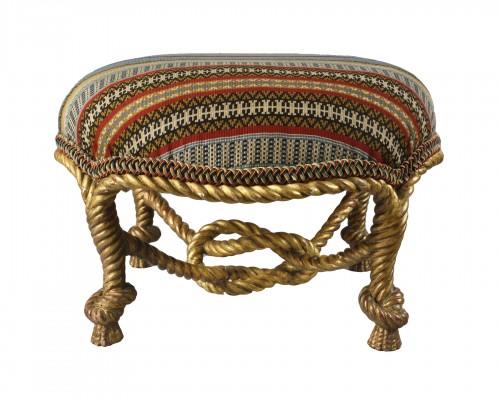 A Napoleon III  stool