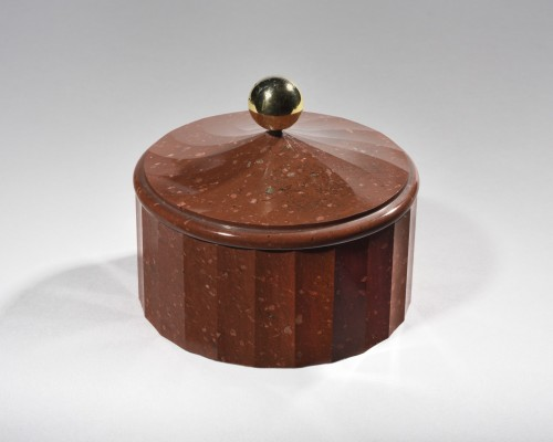 Swedish porphyry box, 19th century  - Objects of Vertu Style