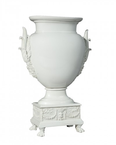 Paris Porcelain Vase Circa 1820