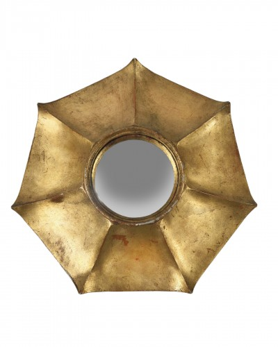 Aluminum cast convex mirror