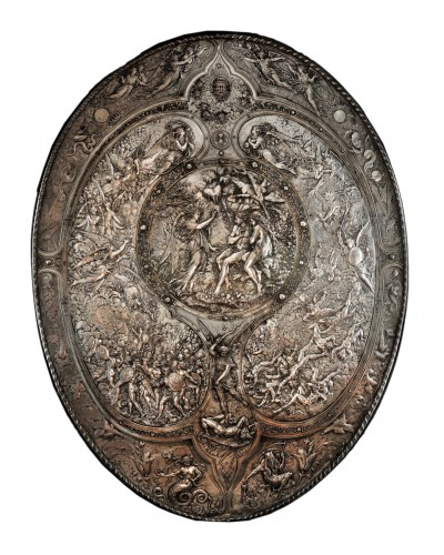 Léonard Morel-Ladeuil - The Milton Shield - for the Elkington company