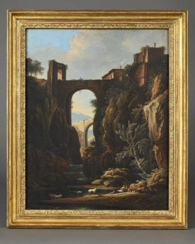 Paintings & Drawings  - Charles-Louis Clérisseau (1721-1820)  – Views of Tivoli