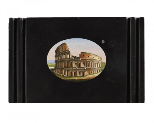 Micromosaic representing the Colosseum - 19th century