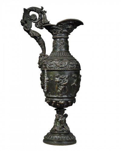 Antique style ewer - 19th century
