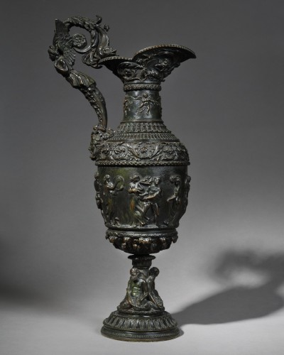 Antique style ewer - 19th century  - Decorative Objects Style