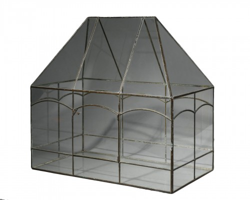 Small indoor greenhouse - France, early 20th century