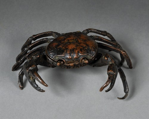 Bronze crab - Padua early 16th century - Curiosities Style