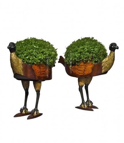 Pair of Biedermeier planters - circa 1825