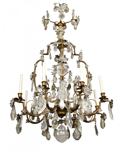 Maison Baguès – Rock crystal chandelier