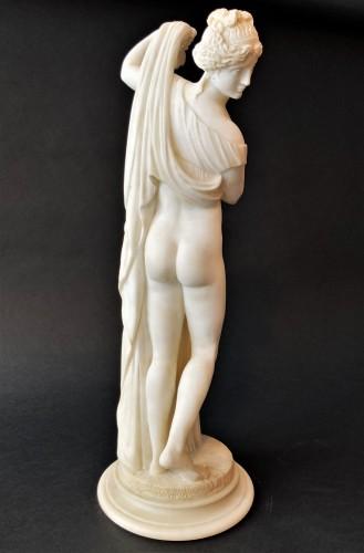 Sculpture  - Alabaster Venus callipygeus - 19th century
