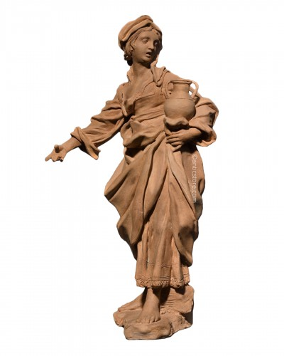 Terracotta representing a woman - 18th century Southern Italy