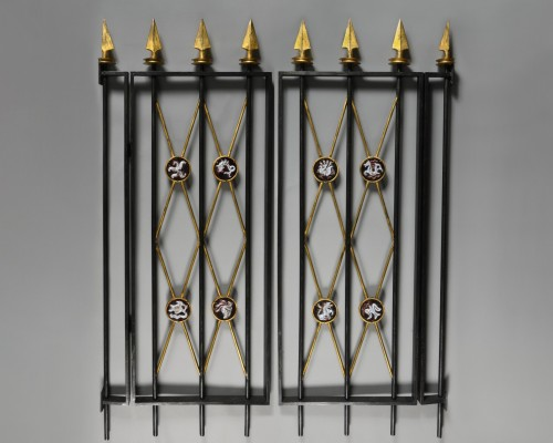 Pair of grating circa 1940 - Decorative Objects Style