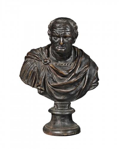 Bust of Vespasian by Willem Danielsz Van Tetrode (before 1530-1585)