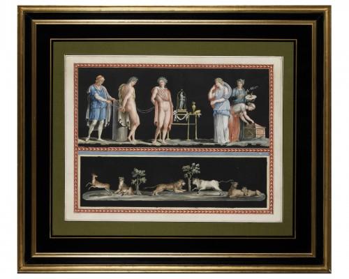 Michelangelo Maestri after Piroli - pair of mythological scenes