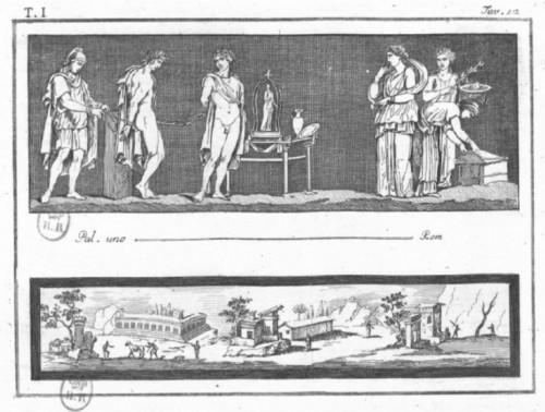 Paintings & Drawings  - Michelangelo Maestri after Piroli - pair of mythological scenes