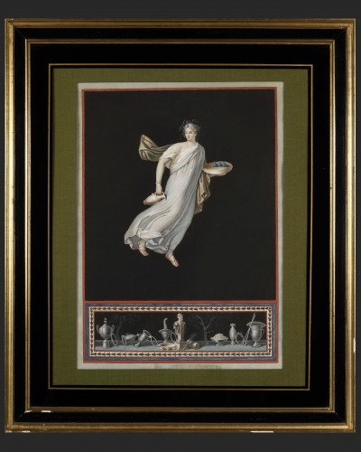 Michelangelo Maestri - Pompeian allegories  - Paintings & Drawings Style