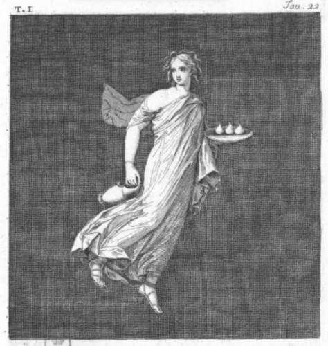 Paintings & Drawings  - Michelangelo Maestri - Pompeian allegories
