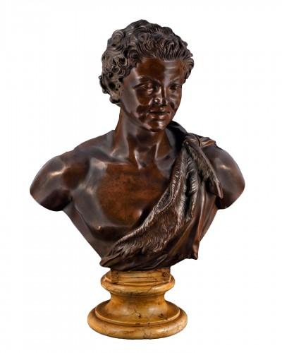 Sabatino de Angelis 1891 - Faun bust after the antique