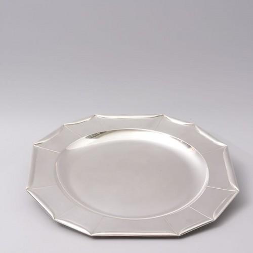 Jean Emile Puiforcat -  large Art Deco Silver Platter circa 1925 - Antique Silver Style Art Déco