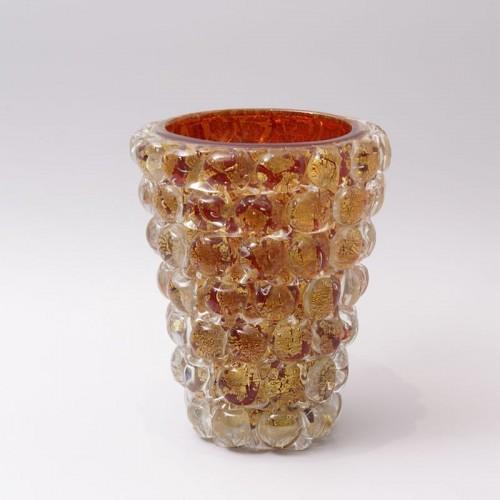"""Ercole Barovier (1889-1974) - """"Lenti"""" Vase -"""