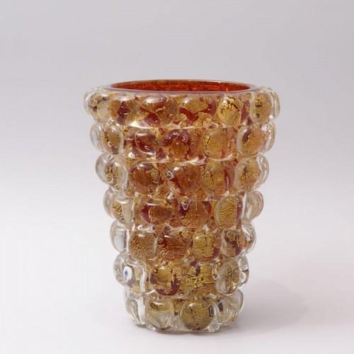"20th century - Ercole Barovier (1889-1974) - ""Lenti"" Vase"