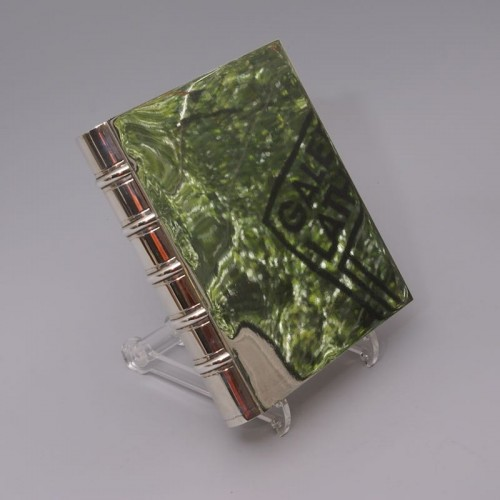 """""""Book"""" Box by TIFFANY & Co - Antique Silver Style 50"""