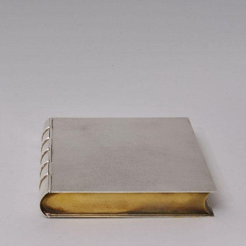 """Antique Silver  - """"Book"""" Box by TIFFANY & Co"""