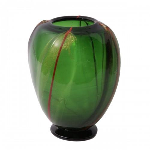 Vittorio Dona - Glass Vase by S.A.I.A.R. Ferro Toso in Murano