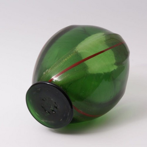 Vittorio Dona - Glass Vase by S.A.I.A.R. Ferro Toso in Murano -