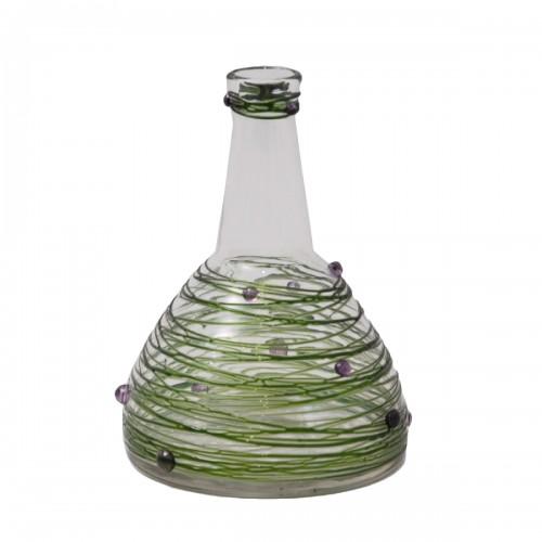 Carl von Reichenbach Glass Vase