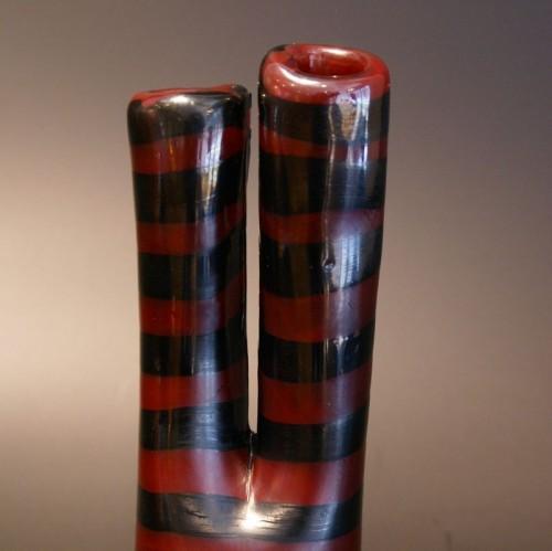 "20th century - ""Bicornate"" Vase by Fulvio Bianconi for Venini"