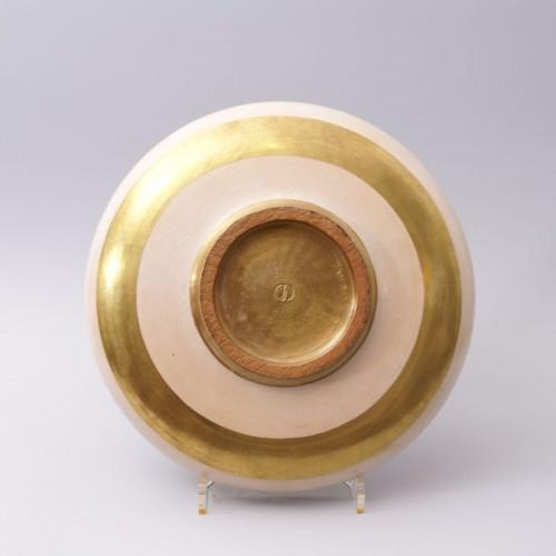 Porcelain & Faience  - Jean Mayodon - Large Earthenware Bowl