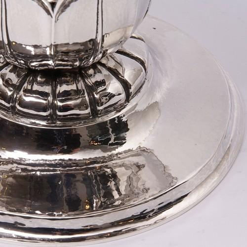Art-déco Silver Bowl - Baltensperger Studio Zurich -