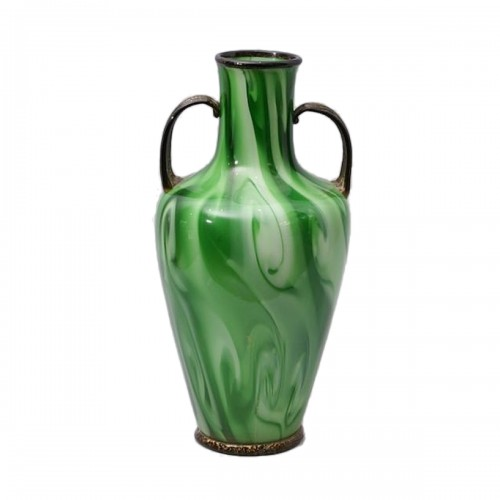 """Calcedonio"" Glass Vase by Fratelli Toso Murano"
