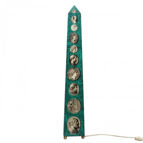 "Piero Fornasetti - | Large ""Obelisk"" Lamp"