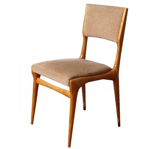 Carlo de Carli Six Chairs Set - Cassina Edition
