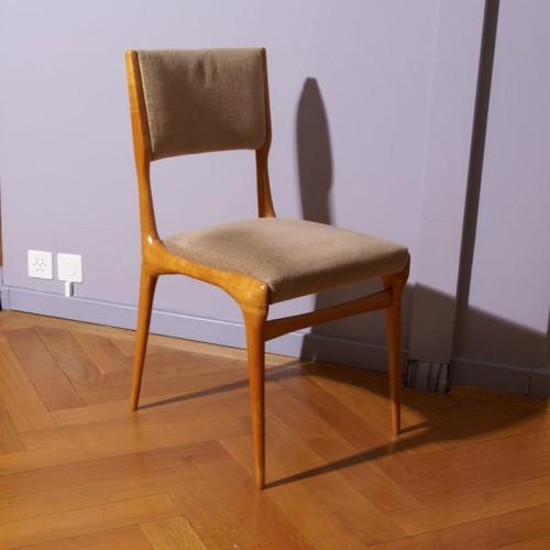 Carlo de Carli Six Chairs Set - Cassina Edition - Seating Style 50
