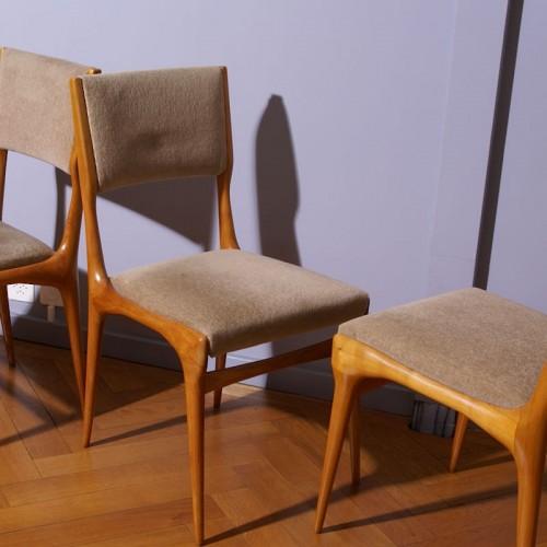 Seating  - Carlo de Carli Six Chairs Set - Cassina Edition