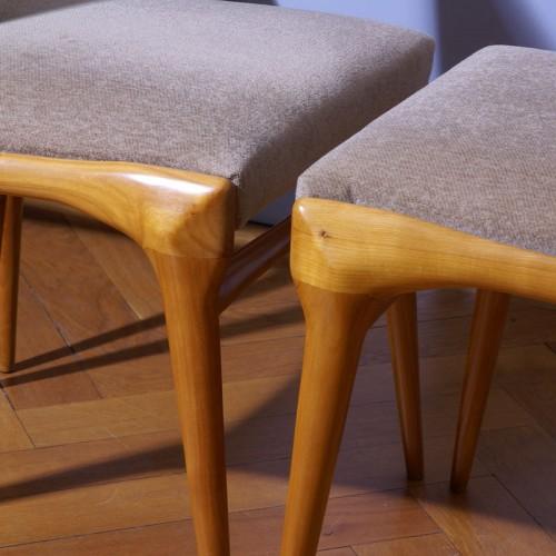 Carlo de Carli Six Chairs Set - Cassina Edition -