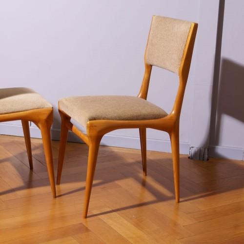 Antiquités - Carlo de Carli Six Chairs Set - Cassina Edition