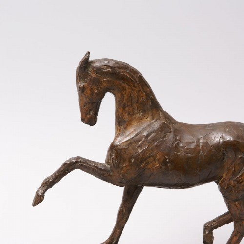 Sculpture  - Bronze Horse - Eduard Bick (1883-1947)