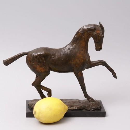 Bronze Horse - Eduard Bick (1883-1947) - Art Déco