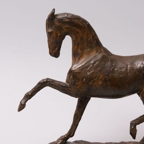 Art Déco - Bronze Horse - Eduard Bick (1883-1947)