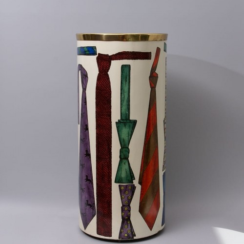 "Decorative Objects  - ""Tie"" Umbrella Stand by Piero Fornasetti"