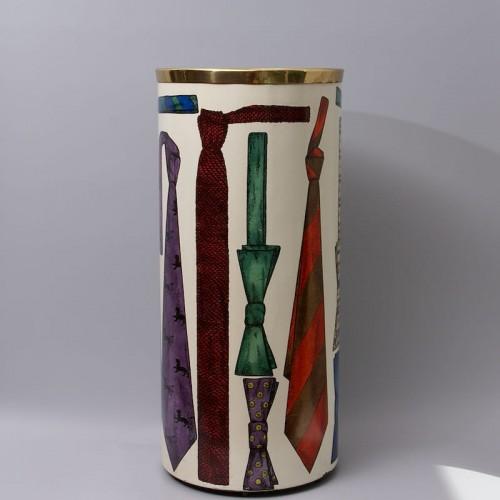 """20th century - """"Tie"""" Umbrella Stand by Piero Fornasetti"""