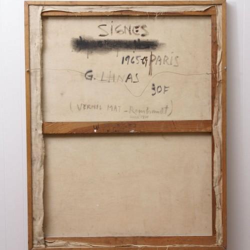 Paintings & Drawings  - Signes - Guido Llinas (1923-2005)