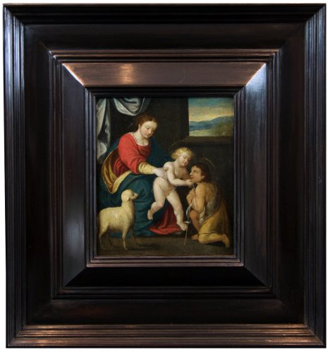 Virgin and Child - 17th Century French School