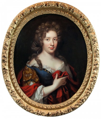 Lady's portrait, workshop of Pierre Mignard