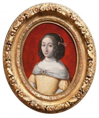 Portrait de femme - France vers 1660, entourage de Wallerant Vaillant